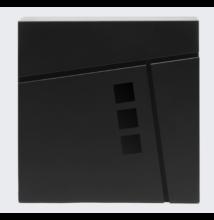 Design postaláda újságtartóval V24 fekete