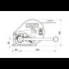 AL-KO Csörlő BASIC 450A + Szalag 6m