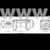Dragon DWH 3500 HD elektromos csörlő