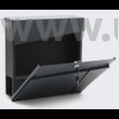 Design postaláda újságtartóval V23 antracit