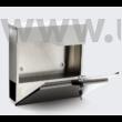 Design postaláda újságtartóval V22 inox