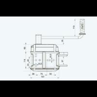 AL-KO Csörlő OPTIMA 901A PLUS + Szalag 10m
