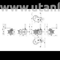 Dragon DWK 25 V kézi csörlő - drótköteles