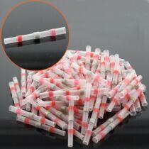 100 db kábel toldó piros 0,5-1,0mm