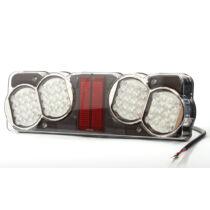 LED hátsó lámpa W40L  24V