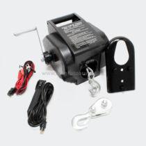 Elektromos csörlő 12V-os vezetékes távirányítóval 5T  max. teher