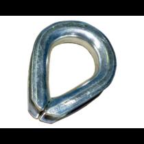 KNOTT Kötélszív 6×16×25
