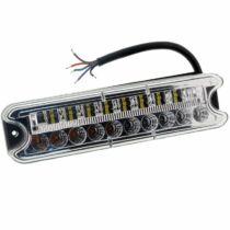 Hátsó lámpa 4 funkció 192x51mm 18 LED jobbra
