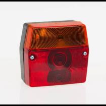 Fristom MD-02 hátsó lámpa - vezetékes +rendszám vil.