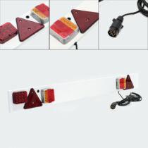 LED Utánfutó lámpahíd - kompletten, ködlámpával