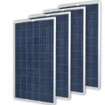 Solarpanel 4 x 240Watt Polykristályos