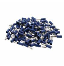 100 db  kerek saru kék 1,5-2,5mm² 300V
