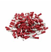 100 db kerek saru piros 0,5-1,5mm² 300V