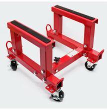 Állítható magasságú, állítható szélességű emelőállvány /450kg /
