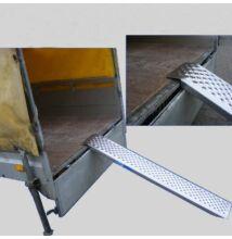 2X aluminium felhajtó rámpa  150 cm 400 kg