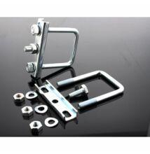 2x bilincs  zártszelvény profilra 60 mm