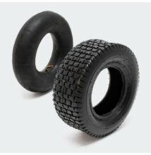 Fűnyíró traktor gumi+tömlő szett 90° szeleppel  16x6.50-8