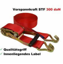 Spanifer 12 méter 2500 daN 2 részes piros