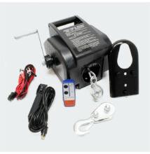Elektromos csörlő 12V-os távirányítóval 5T  max. teher