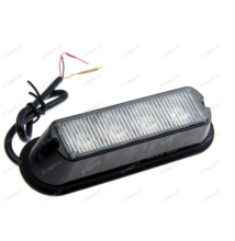 Villogó lámpa 4xLED NARANCS 12/24V