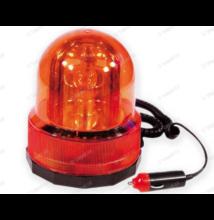 Villogó lámpa sziréna-NARANCSSÁRGA-12V, MÁGNESES