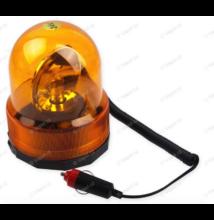 Villogó lámpa sziréna-NARANCSSÁRGA-24V, MÁGNESES