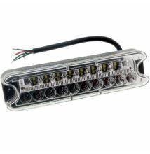 Hátsó lámpa 4 funkció 192x51mm 18 LED balra