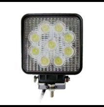 Munkalámpa LED 2565 lm 9x LED 125x110x55 ALU