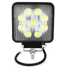 Munkalámpa LED 2200lm, 9xLED, 105x105x34, ALU