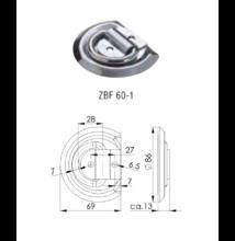 Winterhoff rögzítő elem ZBF-60-1