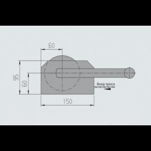 AL-KO Húzócsörlő 250 kg kötéllel