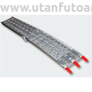 Aluminium rámpa 226 cm 340 kg teherbírás