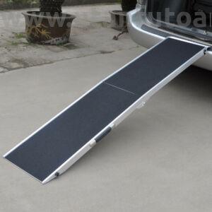 Aluminium rámpa kutyáknak összehajtható 183 cm 110 kg teherbírás