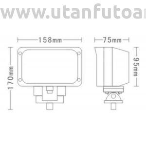 Munkalámpa L0089 15x LED