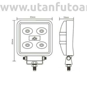 Munkalámpa L0068 5x 3W LED mini