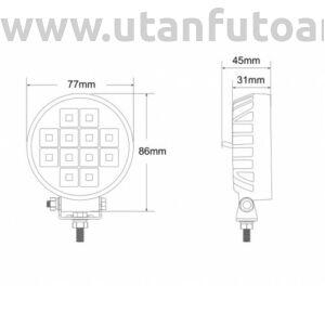 LED munkalámpa L0153