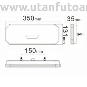 LED hátsó lámpa L194142
