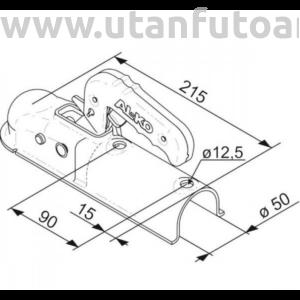 AL-KO kapcsolófej 750 kg cső 50 mm
