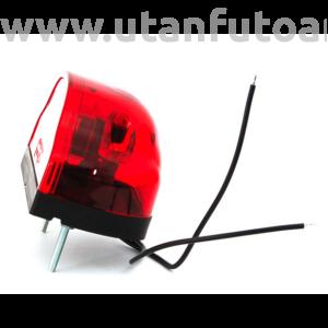 Rendszám világító - W72 (409)LED+pozic.lámpa piros