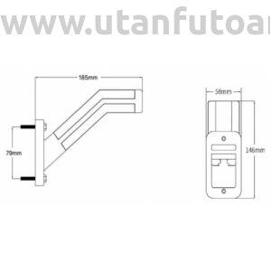 L1905 LED szélességjelző - bal