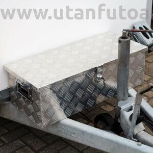 Aluminium box - 76 x 32 x 24,5 cm