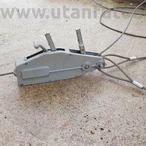 Sodronyköteles vonszoló  800 kg-ig 20 m-es Ø8,3 mm