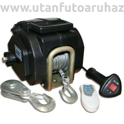 Elektromos csörlő 12V -távirányítóval