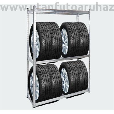 Polc kerék tároláshoz 180 x 120 x 40 cm  - 265 kg / polc