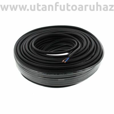 50m kábel 2x1,00mm²   kék/barna