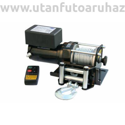 Elektromos csörlő 1130 Kg 2500Lb 12 V ATV QUAD