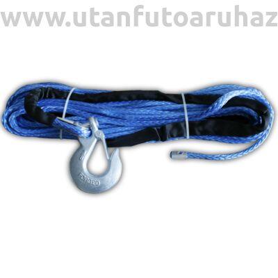 Szintetikus kötél csörlőhöz 6t Ø 10 mm 24m -beakasztó szemmel szerelve