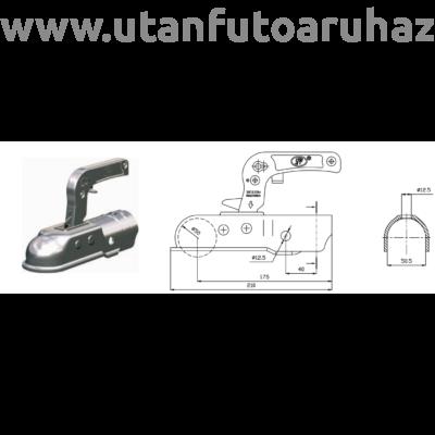 Kapcsolófej SPP ZSK-1700B-5 50mm átm.+zár+dug.tart