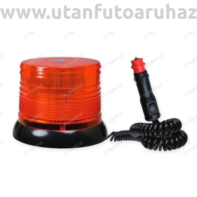 Villogó lámpa sziréna 100 LED NARA mágneses 12/24V
