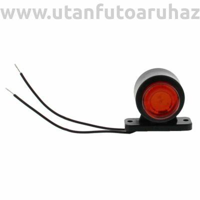 Helyzetjelző lámpa LED 12/24 V piros-fehér